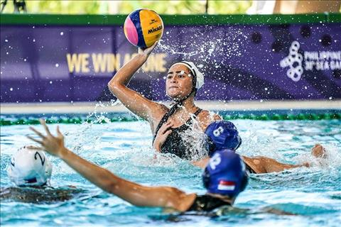 Thai Lan vo dich noi dung thi Bong nuoc (Water Polo) danh cho nu.