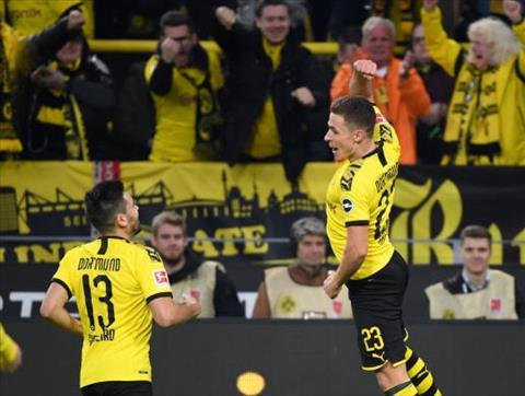 Bàn thắng kết quả Dortmund vs Wolfsburg 3-0 Bundesliga 201920 hình ảnh