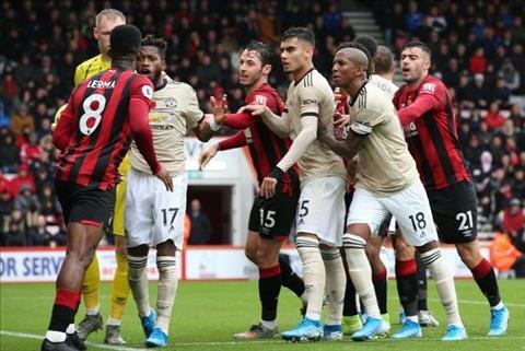 Bournemouth 1-0 MU Quỷ đỏ không nhai nổi Anh đào hình ảnh
