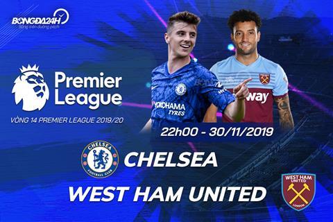 Nhận định Chelsea vs West Ham (22h ngày 3011) Búa tạ vỡ vụn hình ảnh
