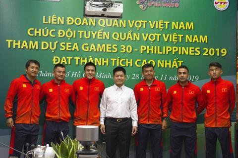 Quần vợt Việt Nam rộng cửa giành tấm HCV SEA Games hình ảnh