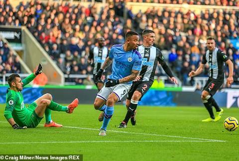 5 điểm nhấn trận Newcastle vs Man City vòng 14 Ngoại hạng Anh  hình ảnh