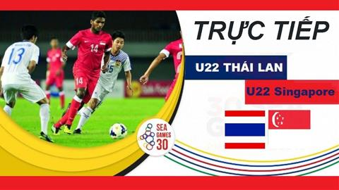 U22 Thái Lan 3-0 U22 Singapore Nhà ĐKVĐ thắng dễ, cục diện bảng B SEA Games 30 thêm căng hình ảnh gốc 3