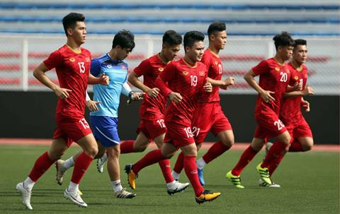 Lich thi dau U22 Viet Nam vs U22 Indonesia (SEA Games 30) hom nay 1/12