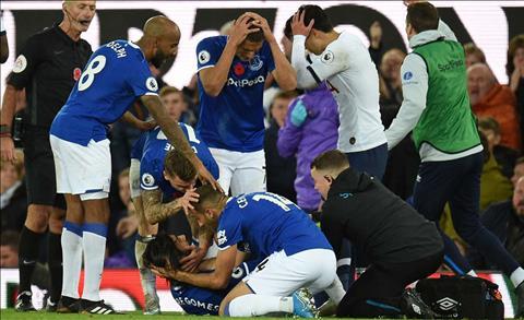 Andre Gomes của Everton bị Son đốn gãy chân giờ ra sao hình ảnh