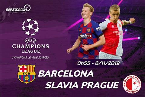 Trực tiếp Barca vs Slavia Praha UEFA Champions League 201920 hình ảnh