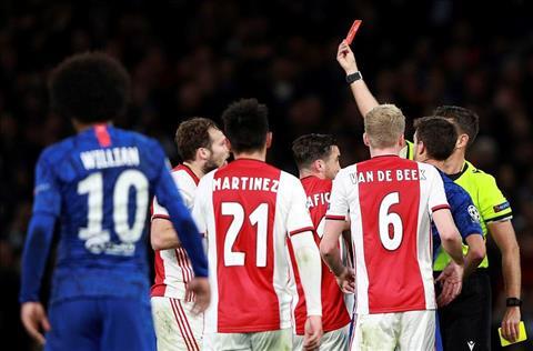 Chelsea 4-4 Ajax Danny Blind the do