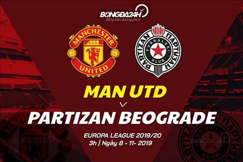 MU vs Partizan