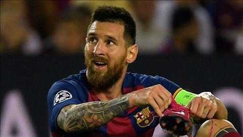 HLV Wenger chỉ trích Barca quá phụ thuộc Messi hình ảnh