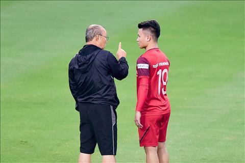 HLV Park Hang Seo tiết lộ lý do để Quang Hải làm đội trưởng U22 V hình ảnh