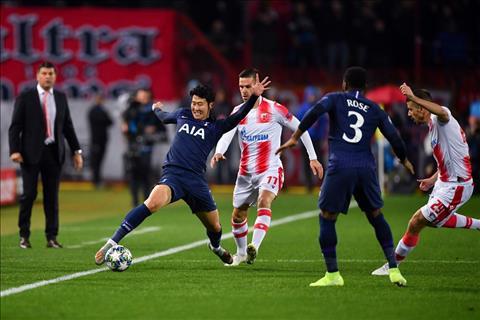 Crvena Zvezda 0-4 Tottenham Vượt qua cú sốc, Son Heung Min lập cú đúp trong chiến thắng đậm của Spurs hình ảnh 2