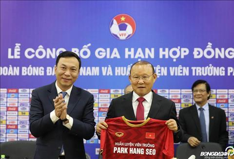 Người Hàn nói gì sau khi HLV Park Hang Seo ký hợp đồng mới với VF hình ảnh