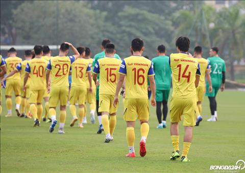 Sau đấu tập nội bộ, ĐT Việt Nam tập luyện mà không có thầy Park hình ảnh