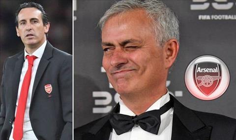 HLV Unai Emery thách thức Jose Mourinho hình ảnh