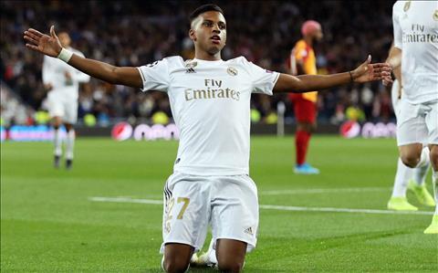 Rodrygo hạnh phúc vô bờ sau hat-trick tại Champions League hình ảnh