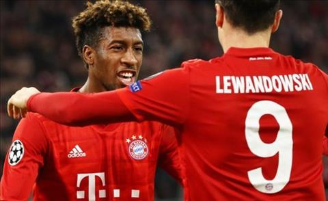 Thống kê Bayern Munich 2-0 Olympiakos Gọi tên Lewandowski hình ảnh