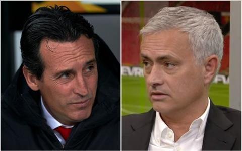 Jose Mourinho gặp mặt Unai Emery vào tuần tới hình ảnh