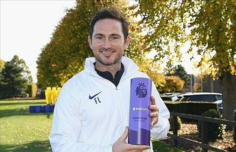 Frank Lampard thang giai HLV xuat sac nhat Premier League thang 10