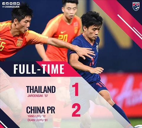 Bàn thắng kết quả U23 Thái Lan vs U23 Trung Quốc 1-2 hình ảnh