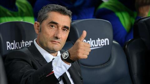 HLV Ernesto Valverde nói về tương lai ở Barca hình ảnh