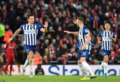 Liverpool 2-1 Brighton