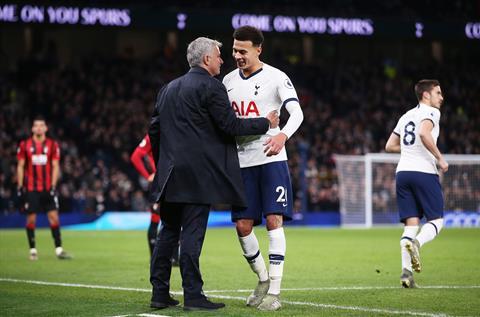 Tottenham 3-2 Bournemouth Dele Alli hồi sinh dưới thời Mourinho hình ảnh