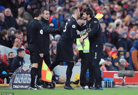 Adrian Alisson Liverpool 2-1 Brighton