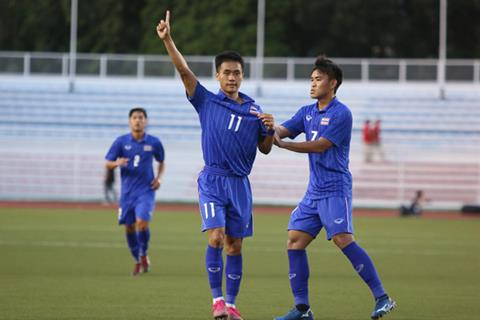 U22 Thai Lan vs U22 Singapore