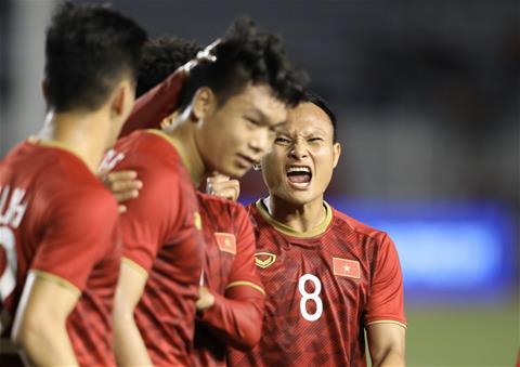 Trung vệ Thành Chung U22 Việt Nam hay ghi bàn quan trọng hình ảnh