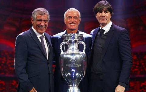 Đức vào bảng 'tử thần' Euro 2020, Joachim Low vẫn tươi như hoa hình ảnh