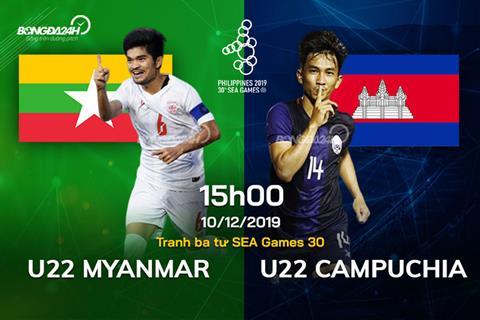 Trực tiếp bóng đá U22 Myanmar vs U22 Campuchia ngày 1012 hình ảnh