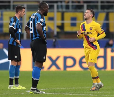 Inter Milan Barca