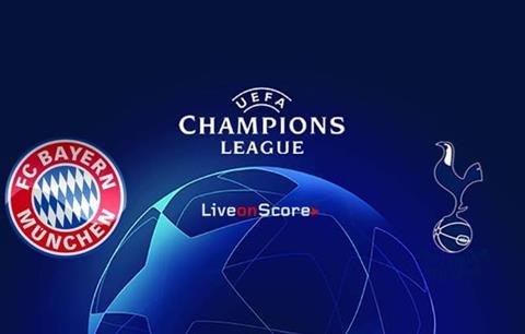 Trực tiếp Bayern vs Tottenham Champions League 2019 đêm nay hình ảnh