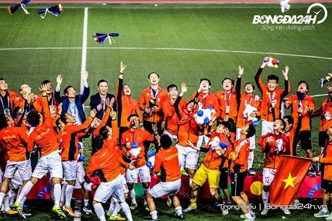 Bóng đá Việt Nam HCV SEA Games: Giấc mơ đã trọn vẹn