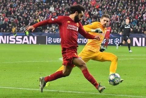 Mohamed Salah lập siêu phẩm vào lưới RB Salzburg hình ảnh