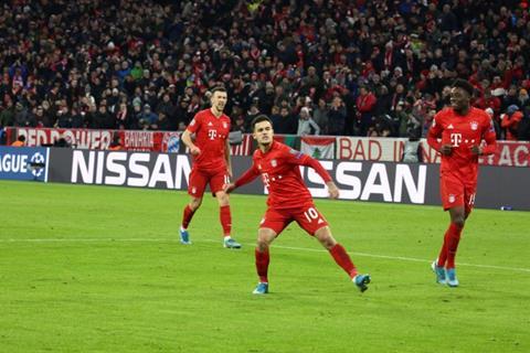 Coutinho giup Bayern danh bai Tottenham 3-1