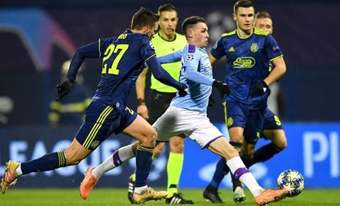 Thống kê Dinamo Zagreb vs Man City - Vòng bảng Champions League hình ảnh