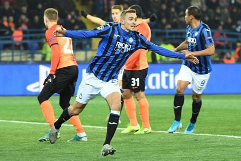 Đánh bại Shakhtar Donetsk, Atalanta lập kỷ lục ở Champions League hình ảnh