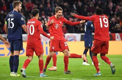 Bayern lại thắng Tottenham Sự dũng cảm được tưởng thưởng hình ảnh 2
