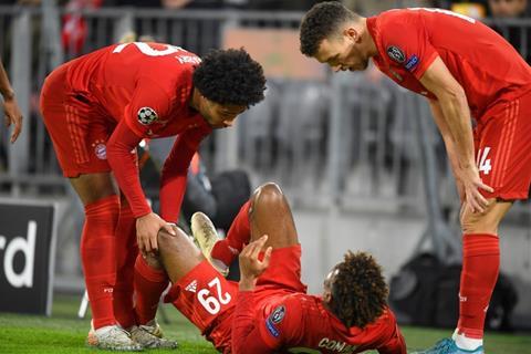 Kingsley Coman dính chấn thương sau trận thắng Tottenham hình ảnh