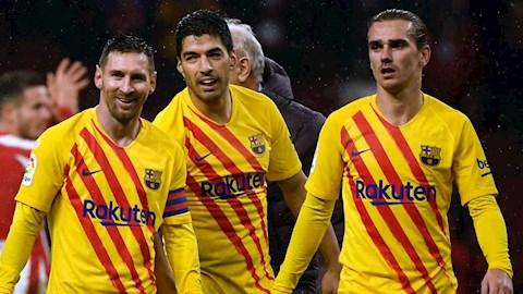 Antoine Griezmann nói về mối quan hệ với Messi và Suarez hình ảnh