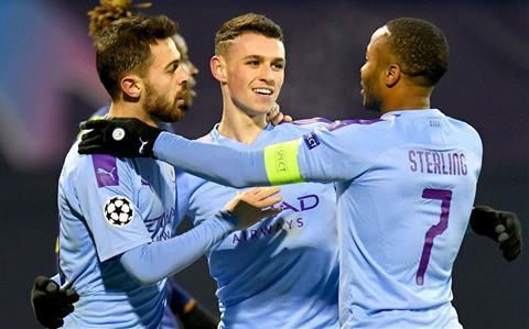 Man City thang Dinamo