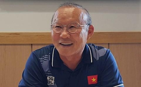 HLV Park Hang Seo nói về mục tiêu của bóng đá Việt Nam hình ảnh