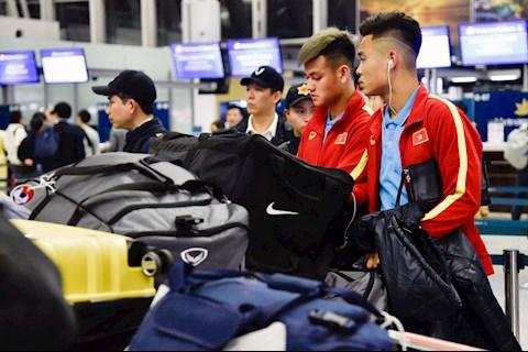 DT U23 tap huan Han Quoc