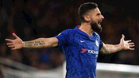 Rời Chelsea, Olivier Giroud tới Inter Milan vào tháng 1 năm 2020 hình ảnh