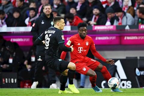 Bayern Munich 6-1 Bremen Show diễn cá nhân của Coutinho hình ảnh 3