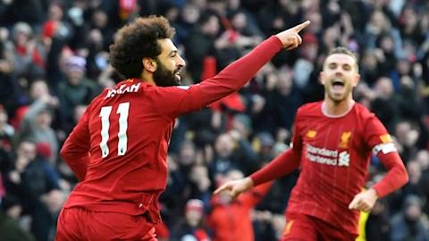 Lập cú đúp diệt Watford, tiền đạo Salah được so sánh với Messi hình ảnh