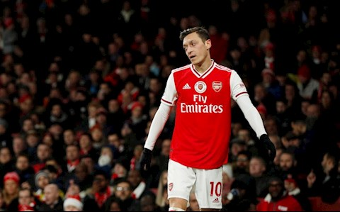 Man City Arsenal ozil