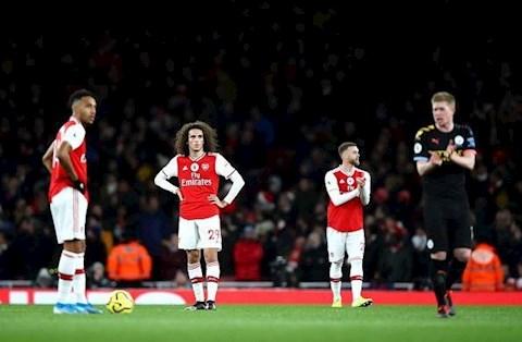 Arsenal thua Man City