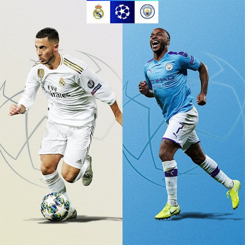Real Madrid vs Man City vong 1/8 Champions League 2019/20